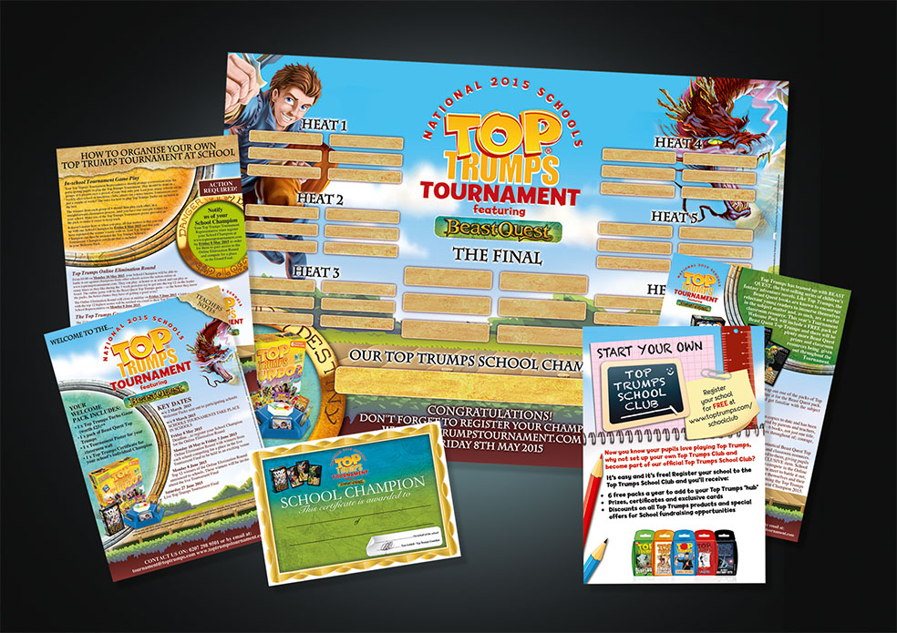 Top Trumps Schools Tournament