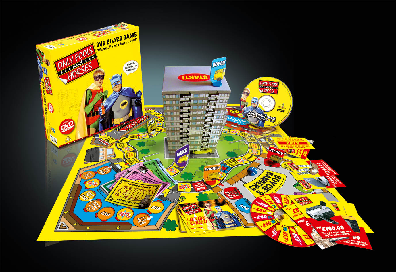 Only Fools & Horses DVD Board Game