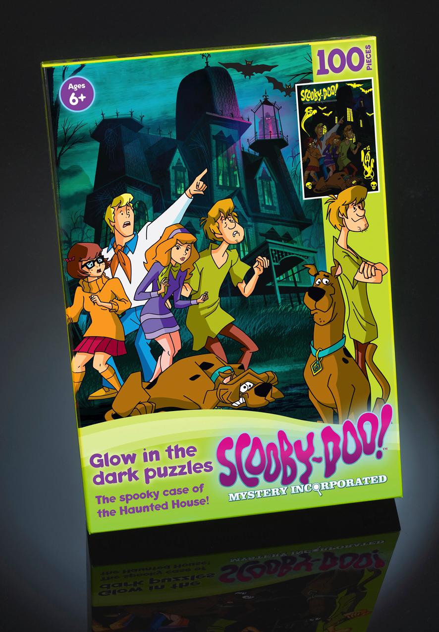 Scooby Doo puzzles