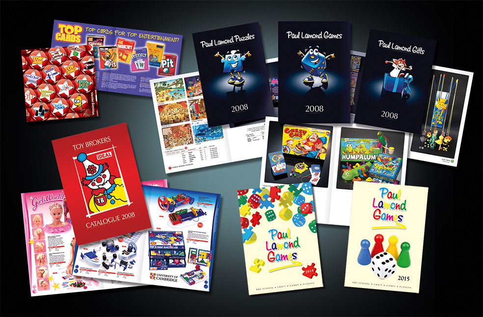 Client Annual Product Catalogues