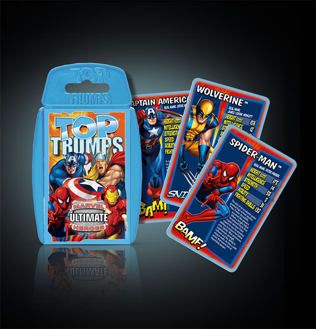 Top Trumps Marvel Ultimate Heroes