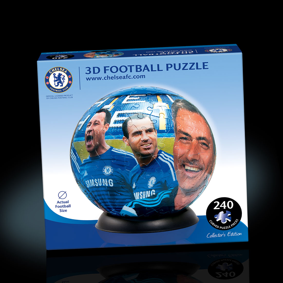 Chelsea 3D Football puzzle packaging