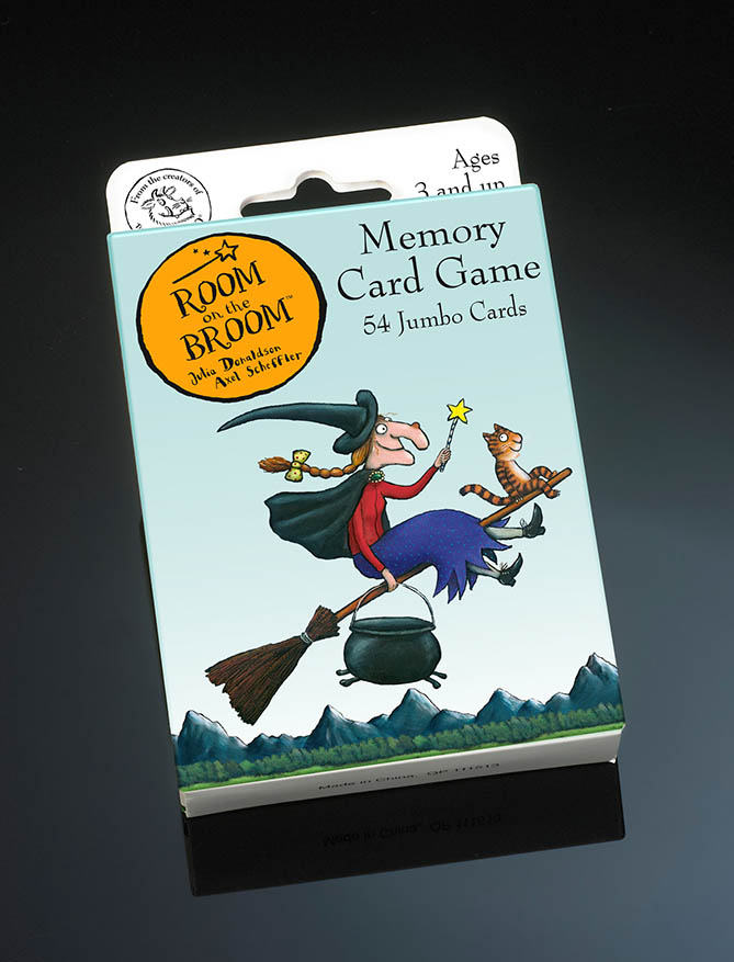 Room On The Broom Card Game