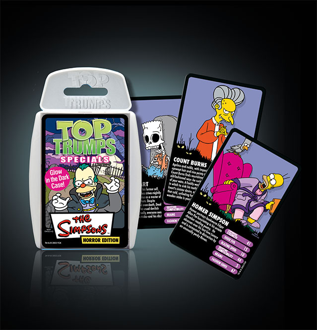 Top Trumps Simpsons Horror