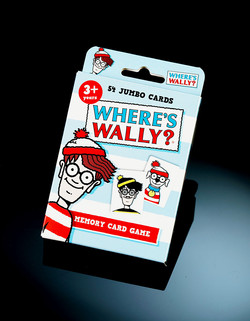 Where's Wally Card Game