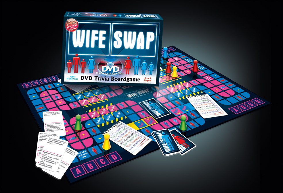Wife Swap DVD Board Game