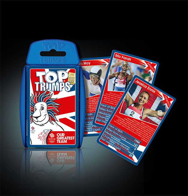 Top Trumps Team GB