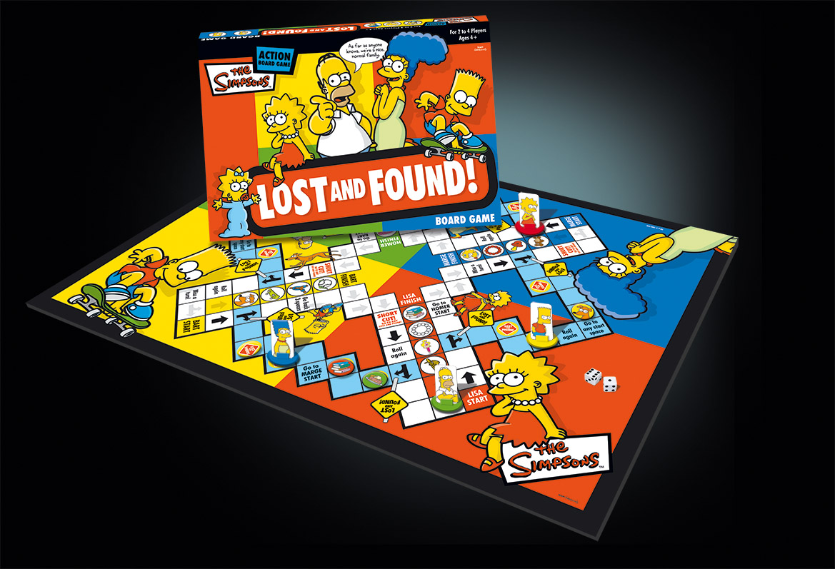 The Simpsons Lost and Found Game