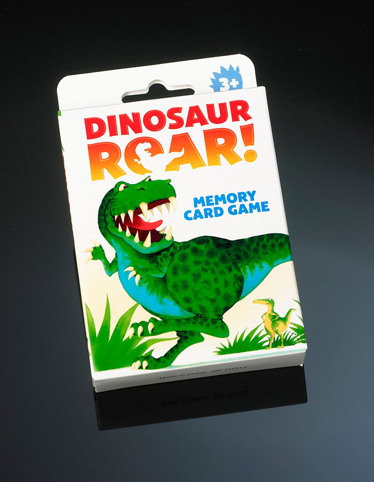 Dinosaur Roar Card Game