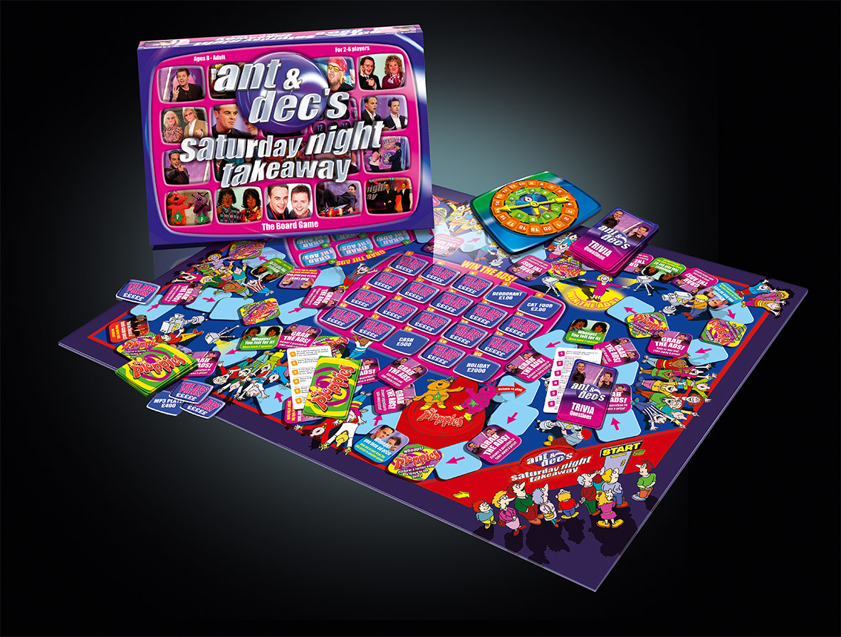 Ant & Dec Board Game
