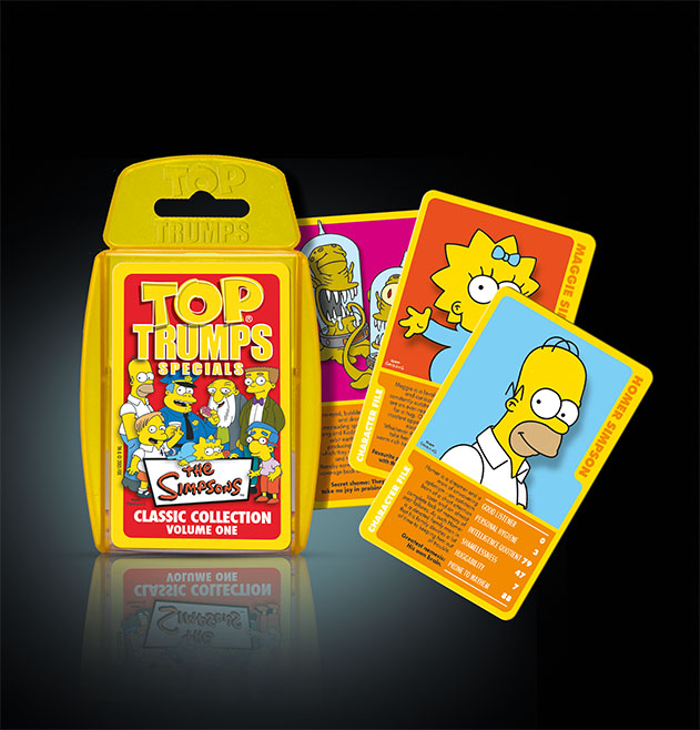 Top Trumps Simpsons