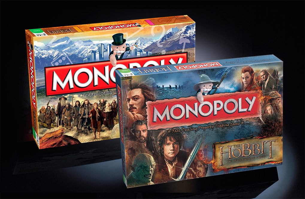 Monopoly The Hobbit Editions