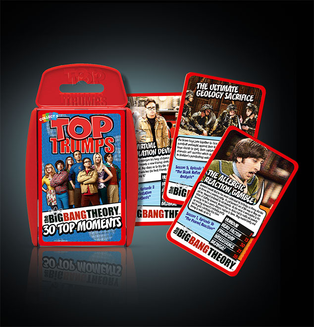 Top Trumps Big Bang Theory