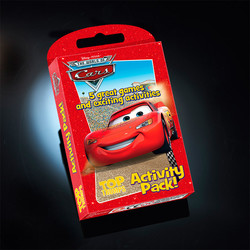 Top Trumps Cars Activity Pack
