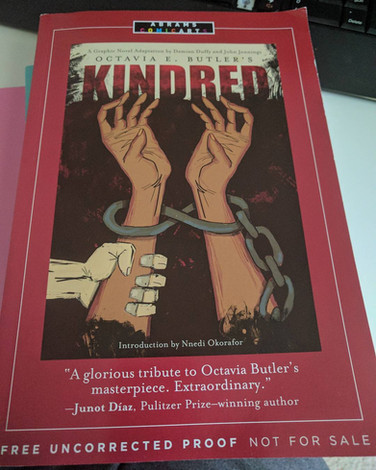 #amreading: Kindred: A Graphic Novel Adaptation