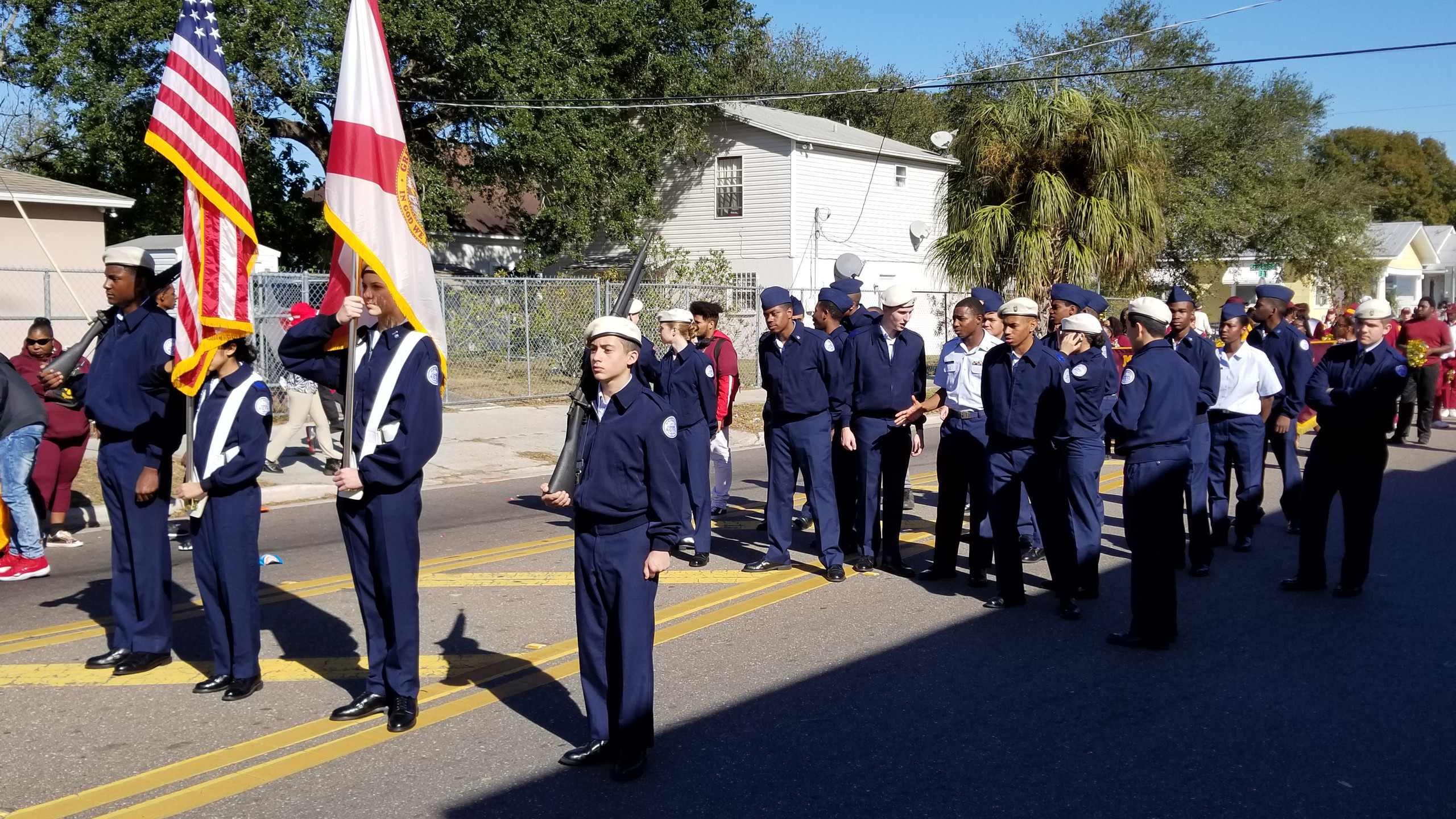 High School Air Force ROTC