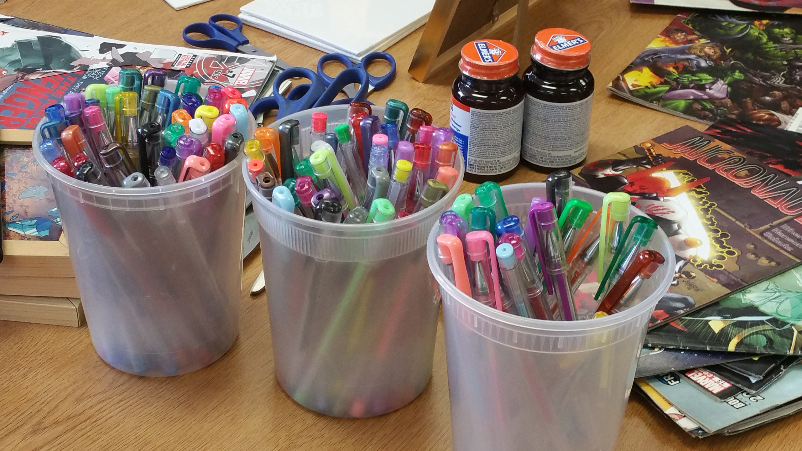 Gel Pens and Stuff