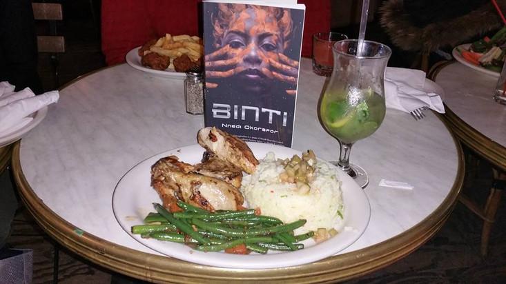 Book Club Meeting: Binti by Nnedi Okorafor