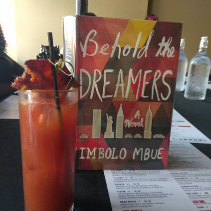 Book Club Meeting: Behold the Dreamers by Imbolo Imbue