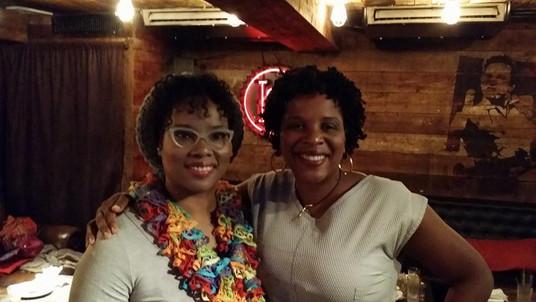 Me and Tayari Jones
