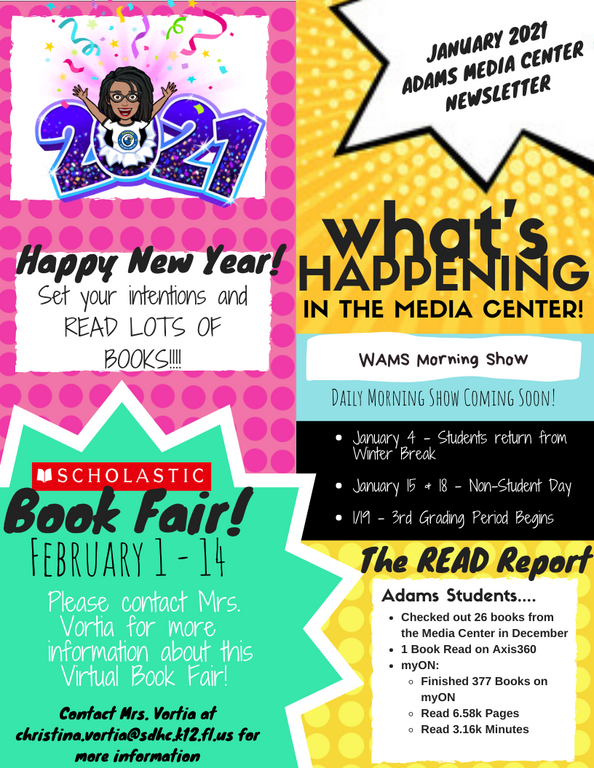 January Newsletter 2021 Page 1