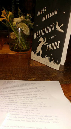 Book Club Meeting: Delicious Foods by James Hanneham