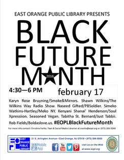 Black Future Month Flyer