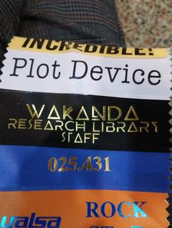 Wakanda Research Library Staff