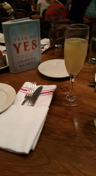 Book Club Meeting: The Year of Yes by Shonda Rhimes