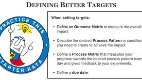 What is a good Target Condition?