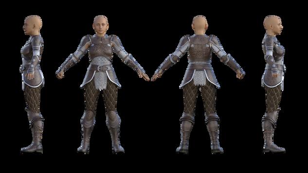 Alicia armor Style 02