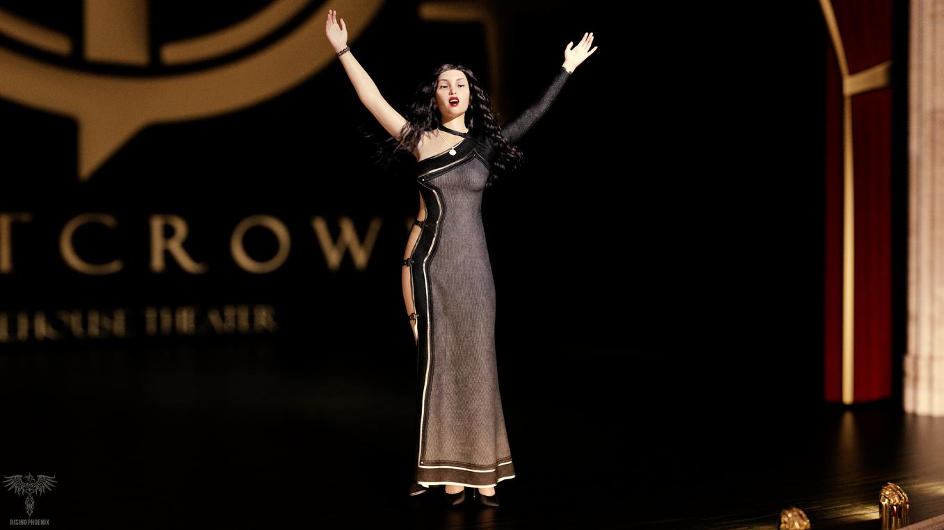 Seraphina Alazzario - 033020 - On stage.