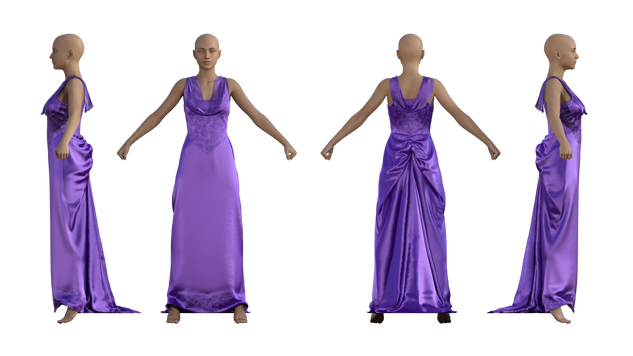 Adrian Gown