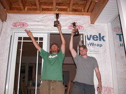 Sean and Mike are the champions