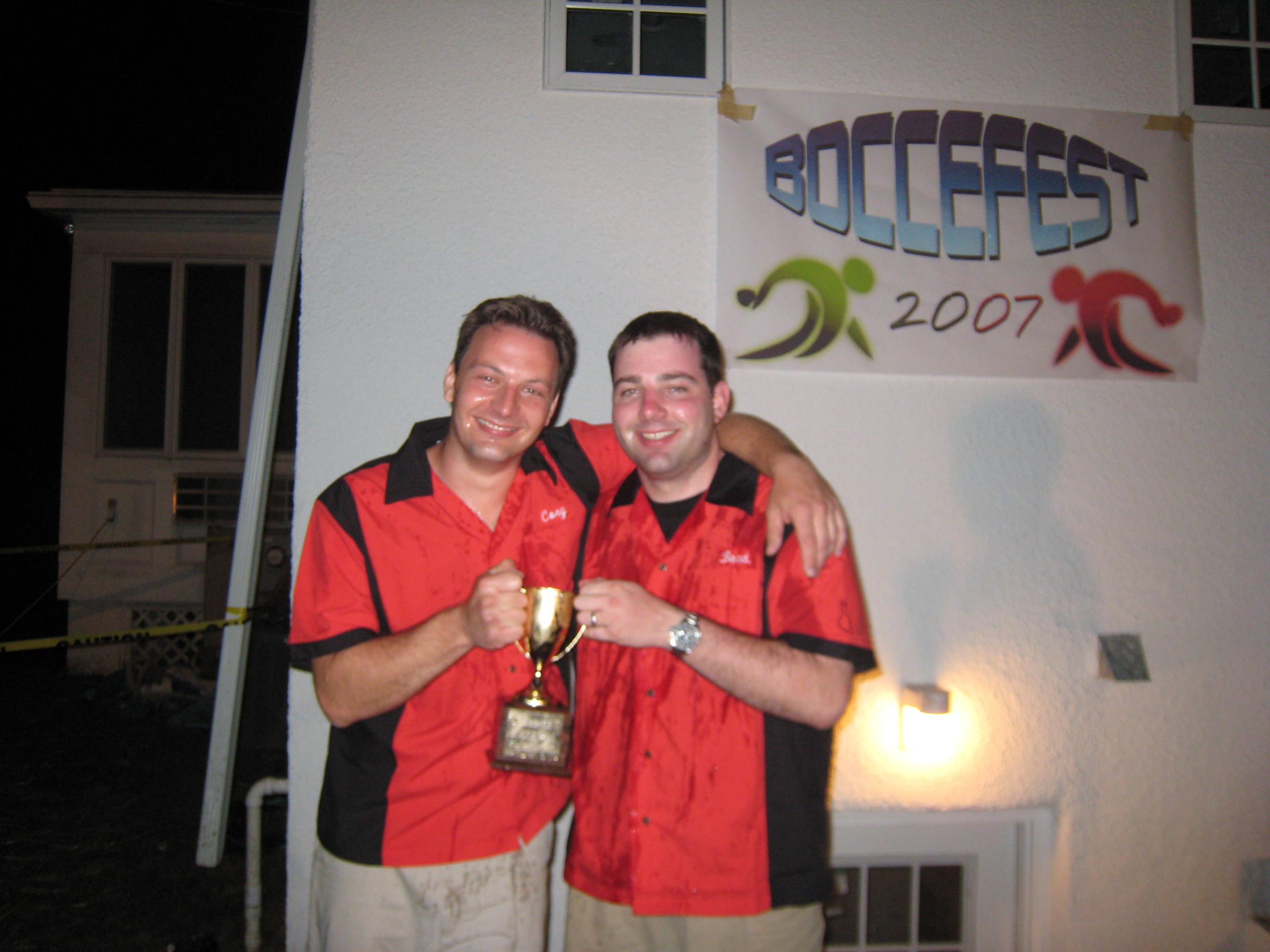 2007 BocceFest Champions