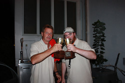 Winners - Toasting victory