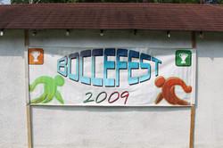 BocceFest 2009 Banner