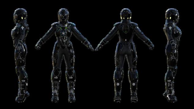 Galactic suit