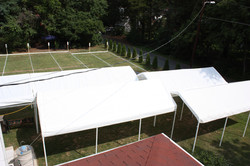 Tents - Aerial view