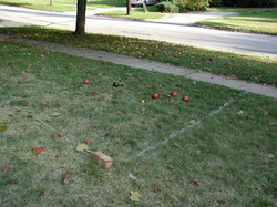 Bocce Ball end of frame