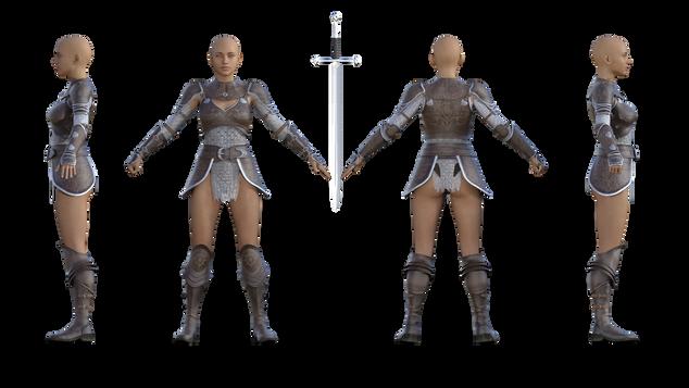 Alicia armor Style 01