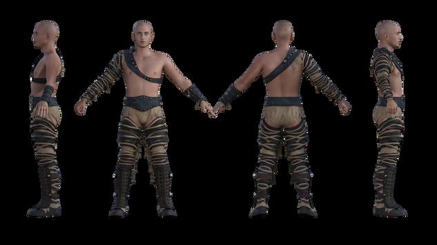 Badlands Gladiator