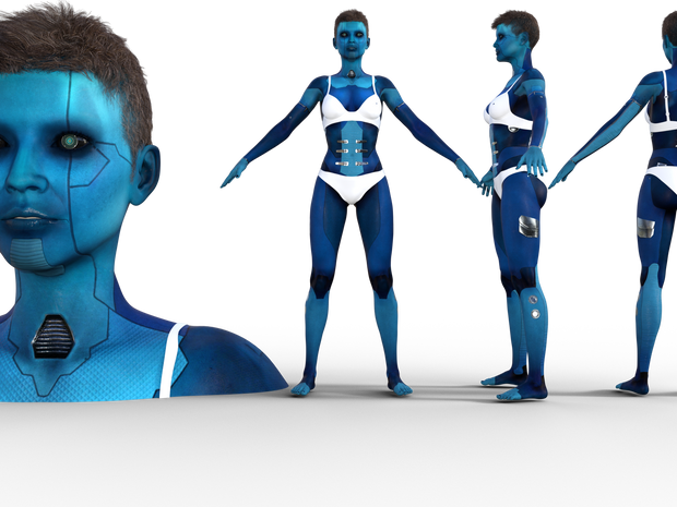 Aeridian Lady