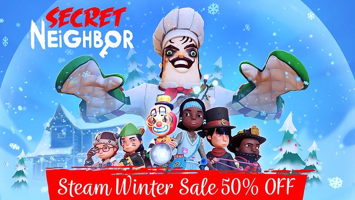 SecretNeighbor_Christmas Sale 50% OFF.pn
