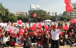 Kite Flying Event with Wockhardt foundation