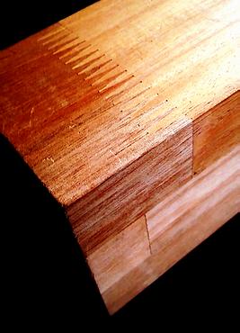 Carrelet de bois en Acajou
