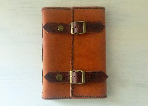 Regular Leather Journal Double Belt Lock