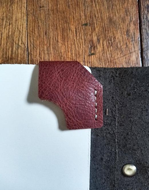 Corner Bookmark - Brown