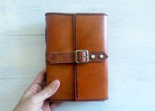 Regular Leather Journal with Single Belt Lock