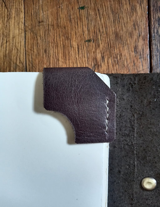 Corner Bookmark - Grayish Brown
